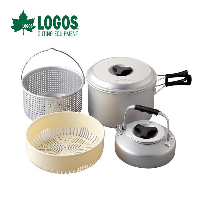 LOGOS ロゴス LOGOS パスタクック5 81210203 調理器具が充実のクックウェア5点セット