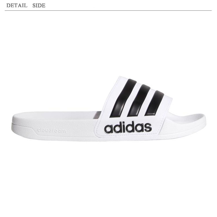 242bf5d6f84 Men s sandals CF ADILETTE  CF アディレッタ  proud of immovable popularity to  treats three stripe and is equipped with a high cloud form cushion-related  in ...