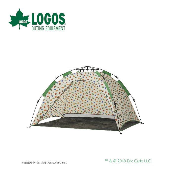 LOGOS ロゴス はらぺこあおむし Q-TOP フルシェード 86009001