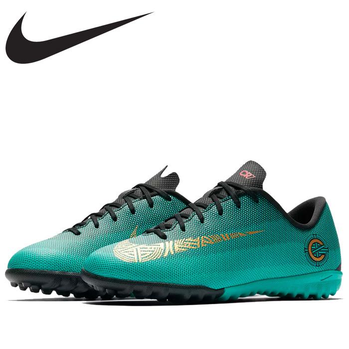 brand new 33bee b793b Nike Jr. vapor X 12 academy GS CR7 TF AJ3100-390 youth shoes