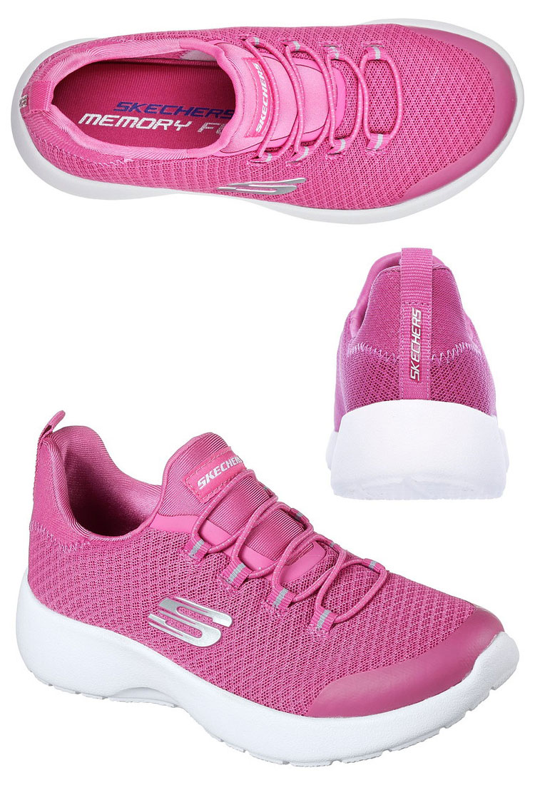 113c692a48ee FZONE  スケッチャーズ DYNAMIGHT-RACE N  RUN 81018L-PNK youth shoes ...