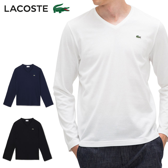 f48eb9c0ce Lacoste long sleeves V neck T-shirt men TH340EL