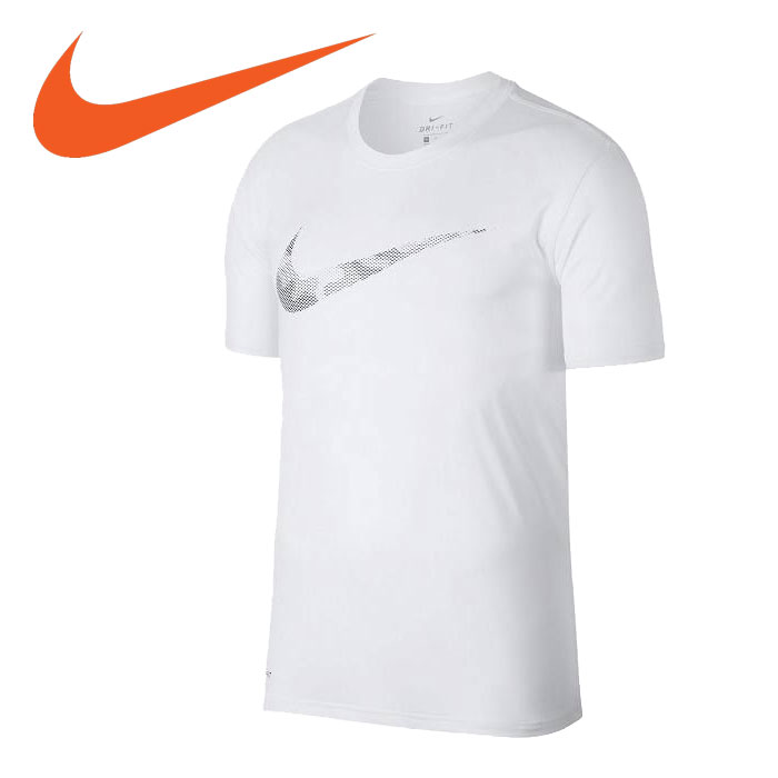 e1a5f9c3 FZONE: Nike DRI-FIT legend duck logo T-shirt 890,171-100 men's NIKE ...