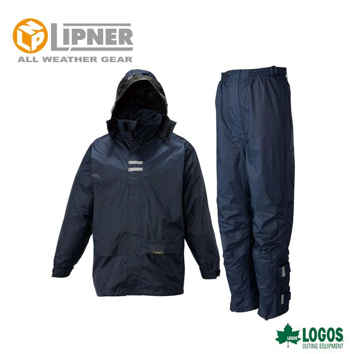 LIPNER リプナー バックパックレインスーツ ネイビー 2371628 レインウェア メンズ