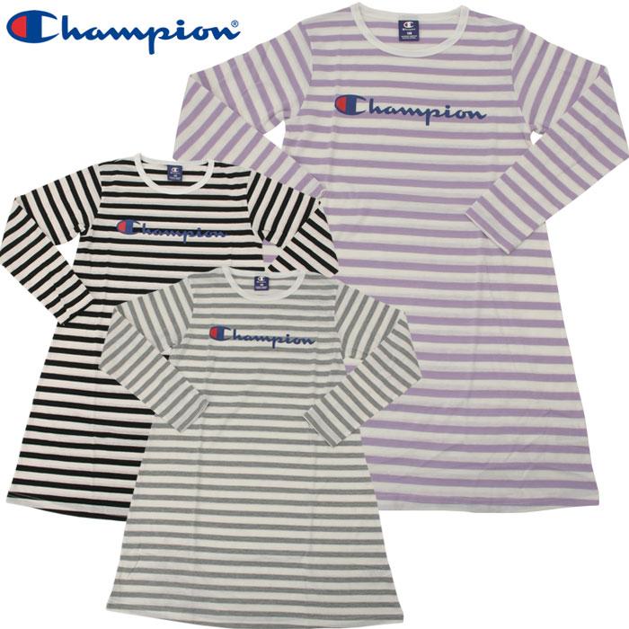 7bfc144d3 Champion horizontal stripe dress CJ4231 youth kids girls spring of 2019  summer ...