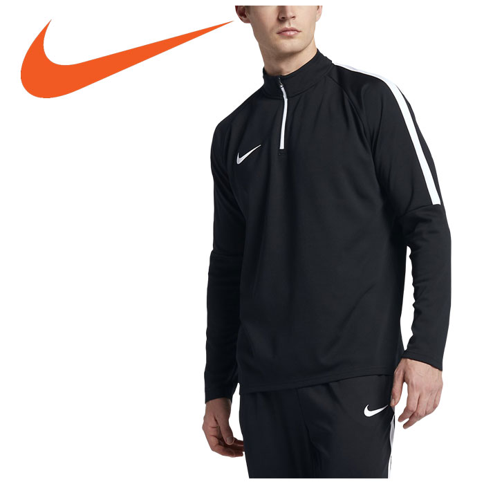 ad952390c Nike NIKE soccer long sleeves sweat shirt men ACADEMY DRI-FIT L/S drill ...