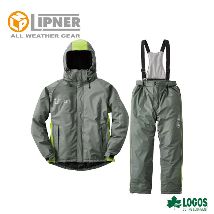 LIPNER リプナー 油に強い防水防寒スーツ サーレ グレー 3061521 防水防寒ウェア メンズ