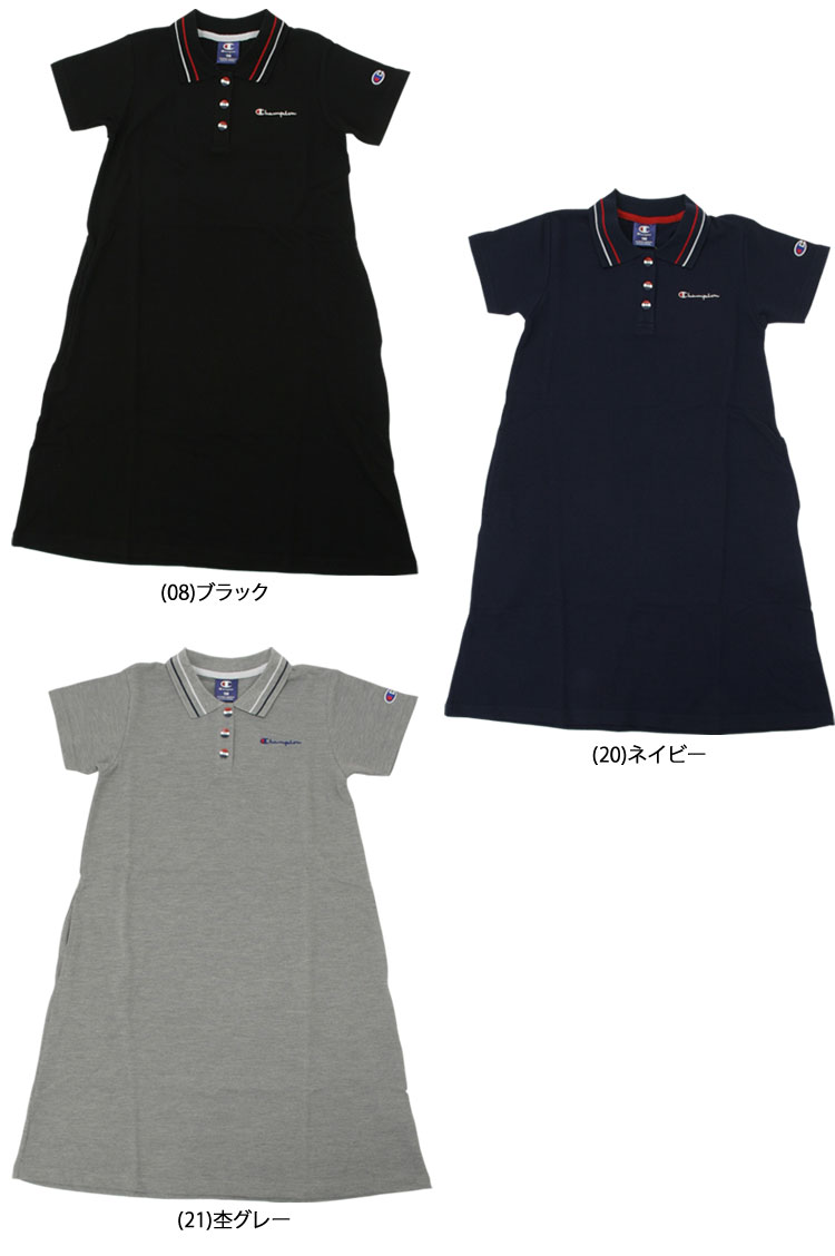 634fdb198 With pocket [specifications] Front button autumn [wearing] Dress with the  neckband good to outing [one push point] Simple, convenient one piece