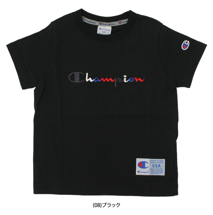 7b9c0a547a77 Neckband tape of the entering logo, ticket of the hem [wearing] A T-shirt  of the color script embroidery that is popular in Champion.