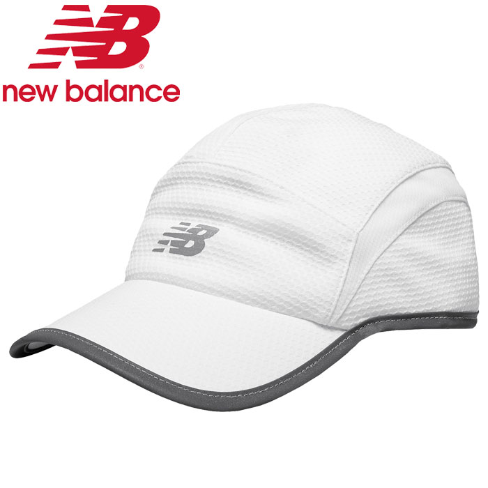 FZONE  New Balance 5 panel performance cap 500142-WT men  a8b0574c4c1