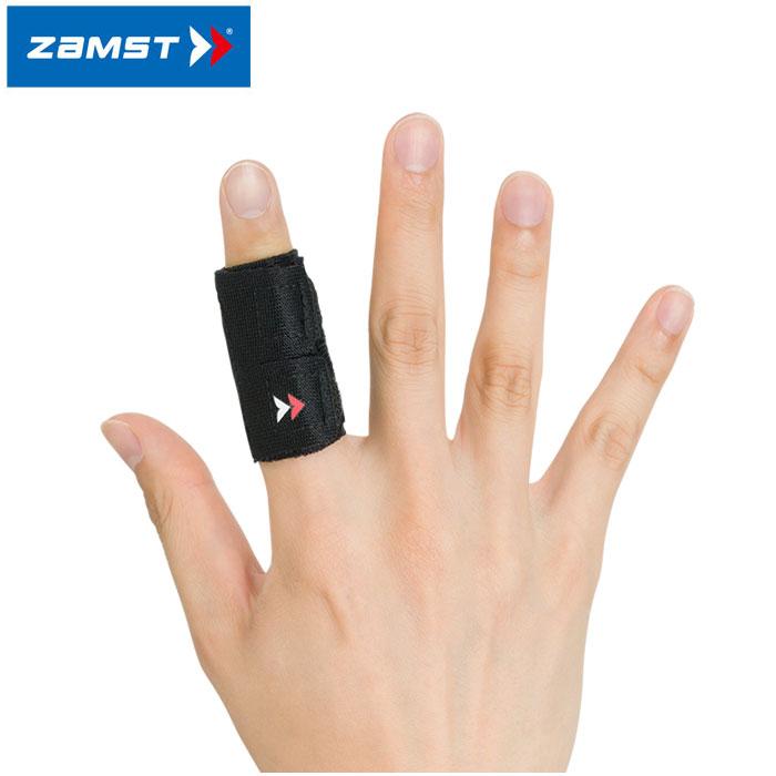 2点までメール便送料無料 ザムスト フィンガーラップ 商い 1本指タイプ 指用サポーター 激安通販 返品不可 ZAMST