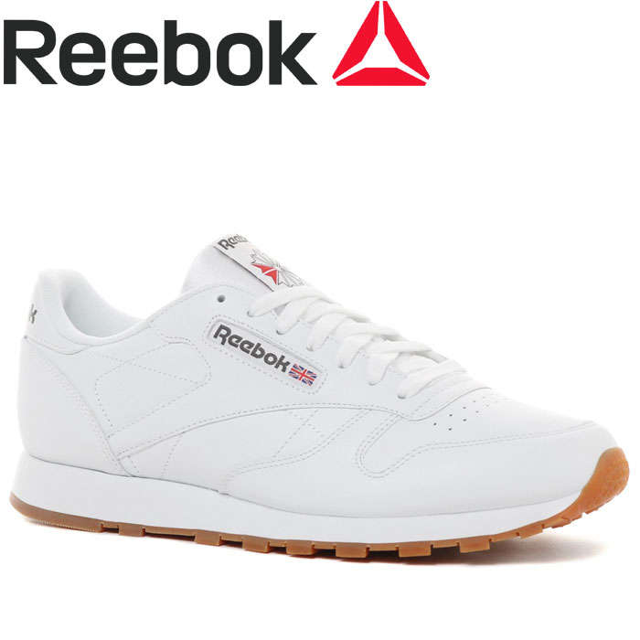 52ef8b461f89d FZONE  Reebok CL LTHR 49799 men s shoes
