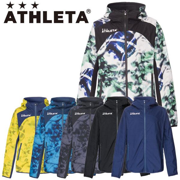 【ポイントアップ祭!】アスレタ サッカー フットサル ストレッチトレーニングジャケット メンズ 04124