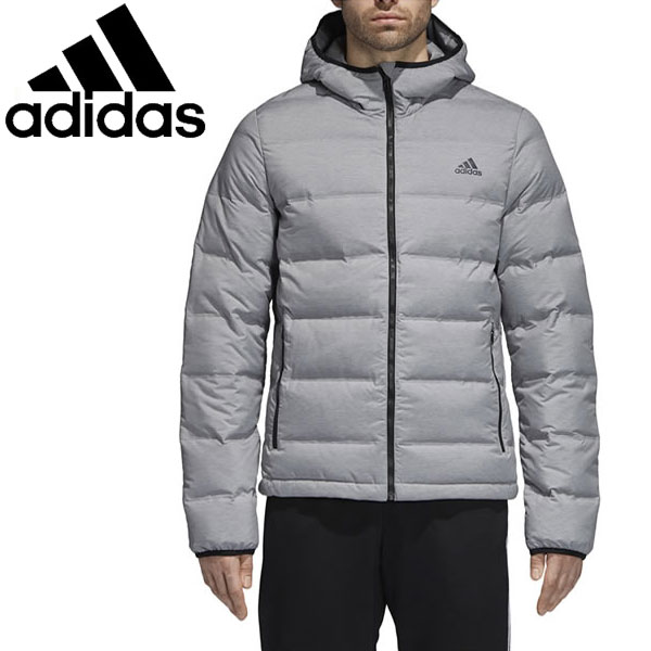 e6fb06c5db00 FZONE  Adidas down jacket HELIONIC HOODED JACKET MELANGE men EVT14 ...