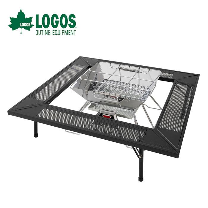 【ポイントアップ祭!】LOGOS ロゴスアイアン囲炉裏テーブル 81064134