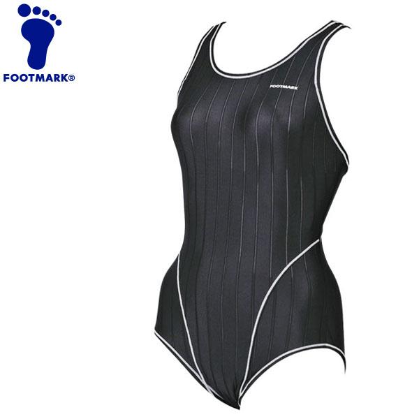 フットマーク 水泳 ワンピースハイパーバック ベーシック4L、5L 水着 258044B1-09 《返品不可》
