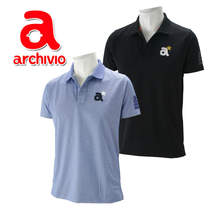 アルチビオ ゴルフウェア 半袖 ポロシャツ メンズ A669314 春夏