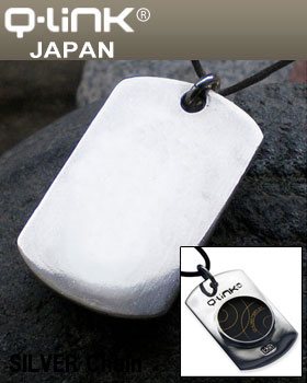 Q-Link(キューリンク) シルバータグ SILVER TAG 日本正規品