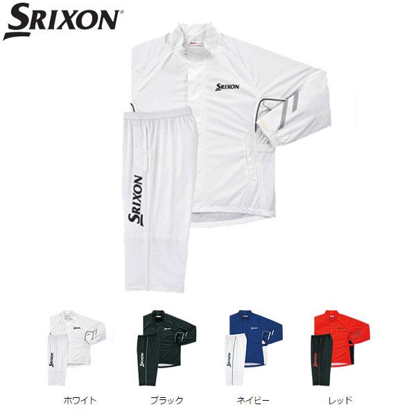スリクソン ゴルフ メンズ レインジャケット&パンツ 上下セット SMR6000 SRIXON