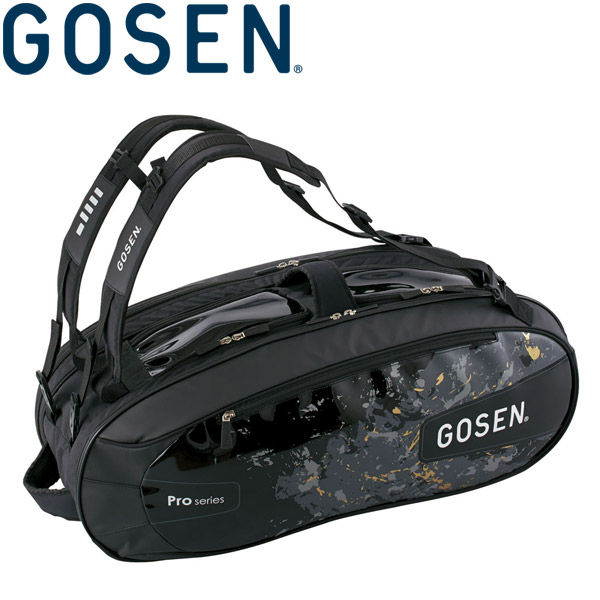 ゴーセン ラケットバッグ PRO4 (ラケット4本入) BA18PR4-39