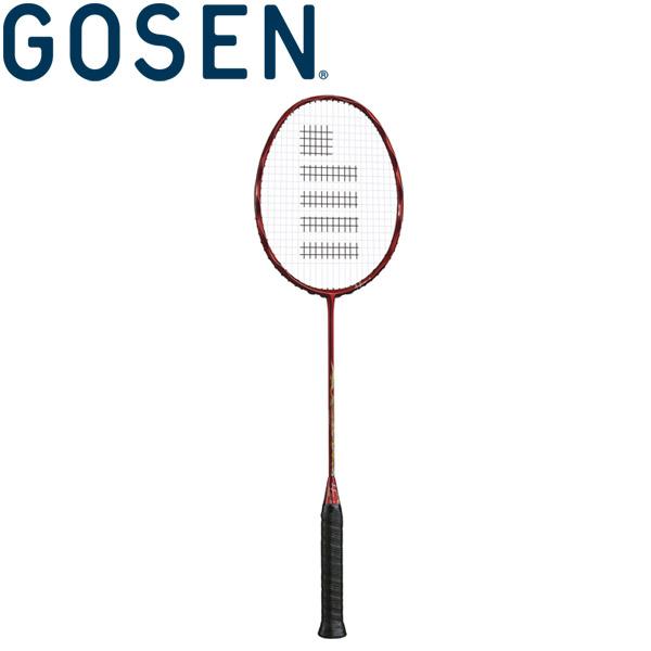 ゴーセン INFERNO EX レッド バドミントン用ラケット (フレームのみ) BRIFEXRE