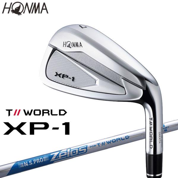 ホンマ ゴルフ T//WORLD XP-1 アイアン 5本セット N.S.PRO Zelos for TW 2019モデル 日本仕様