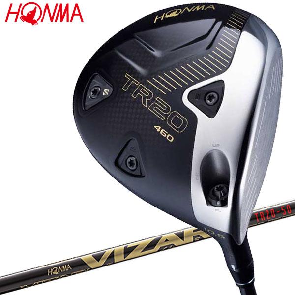 ホンマ ゴルフ T//WORLD TR20 460 ドライバー VIZARD TR20-50カーボン 日本仕様