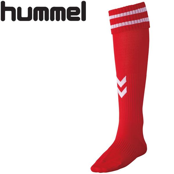 お得セット メール便送料無料 17FW hummel ヒュンメル 発売モデル サッカー 靴下 ゲームストッキング ソックス キッズ HJG7070SJ-2010 ジュニア