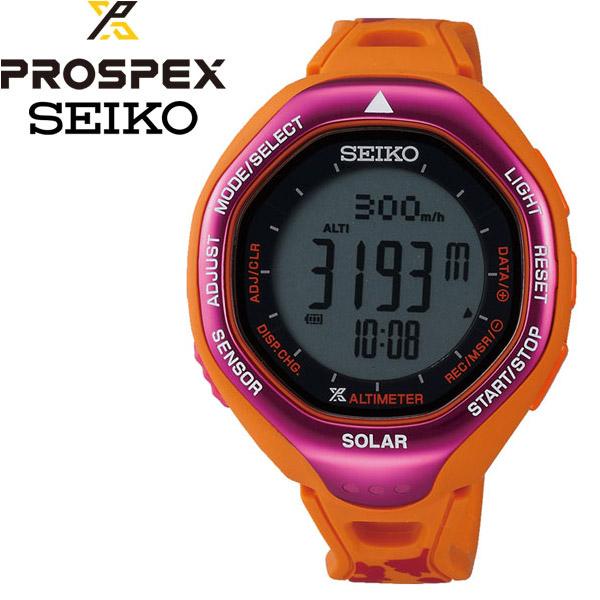 プロスペック アルピニスト 登山用ソーラーデジタルウオッチ 腕時計 SEIKO PROSPEX SBEB027