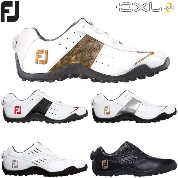フットジョイ FJ イーエックスエル スパイクレス ボア ゴルフシューズ FOOTJOY EXL Boa