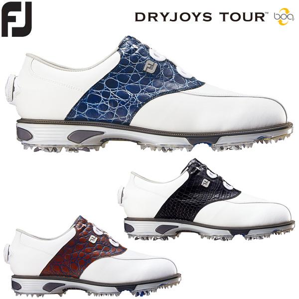 フットジョイ ドライジョイズ ツアー ボア メンズ ゴルフシューズ DRYJOYS TOUR Boa
