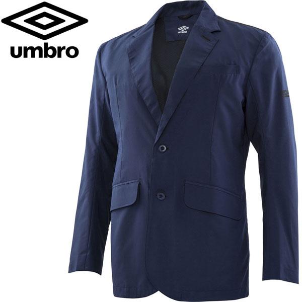 アンブロ サッカー ウェア OFF テイラードシャワージャケット UMULJC30-NVY 18SS