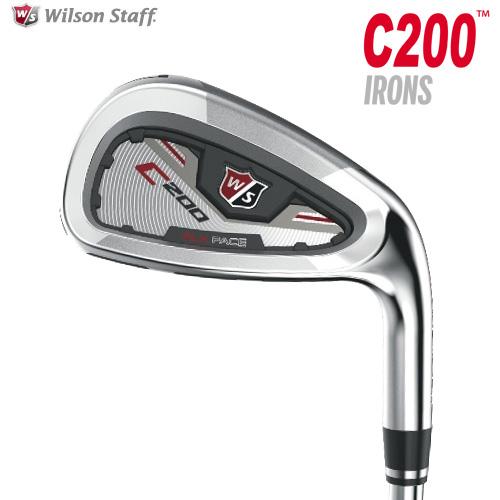 ウィルソン ゴルフ C200 アイアン (#5~PW) 6本セット 2016モデル