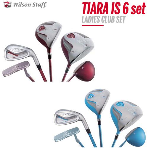 ウィルソン ゴルフ レディースクラブセット ティアラ IS 6本セット 2016モデル TIARA IS