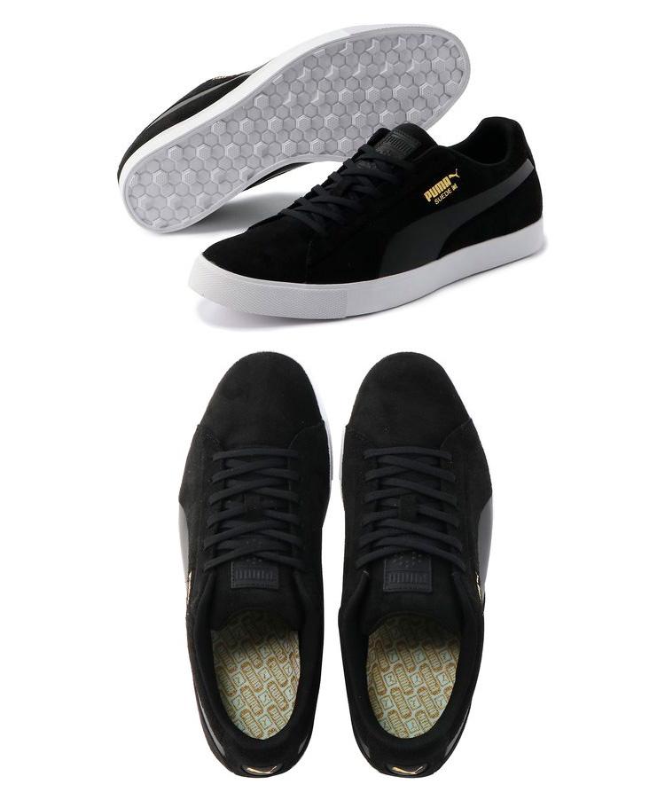 FZONE  Puma golf shoes men suede cloth G Suede G 191205 2018 fall ... 2afed7fcc