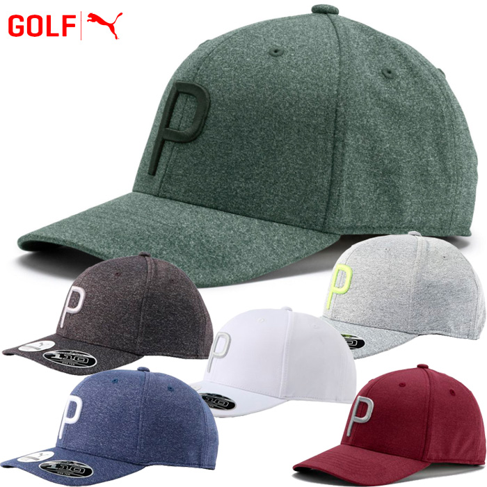 FZONE  Puma golf P mark snapback cap hat 021448  c4d91df54ab5