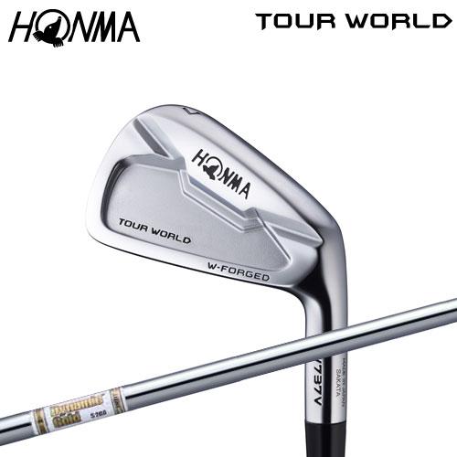 ホンマ ゴルフ TW737 V アイアンセット 6本組(#5-10) ダイナミックゴールドAMT スチールシャフト