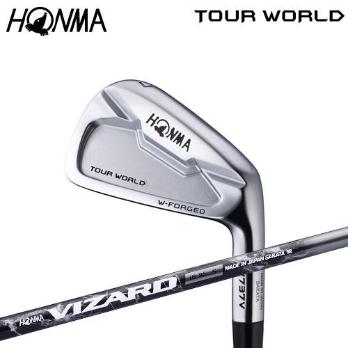 ホンマ ゴルフ TW737 V アイアンセット 6本組(#5-10) VIZARD IB カーボンシャフト