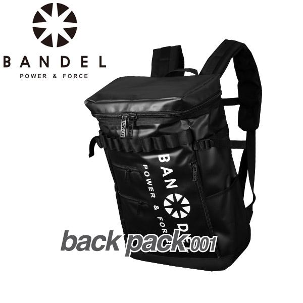 バンデル バックパック 001 ブラック×ホワイト