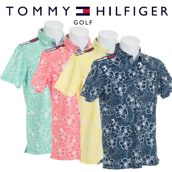 トミーヒルフィガー ゴルフウェア メンズ 半袖ポロシャツ THMA858 2018春夏
