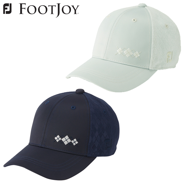 FZONE  Foot Joey golf FJ Wo argyle cap hat Lady s FJWHW1822 ... 71226de36e4