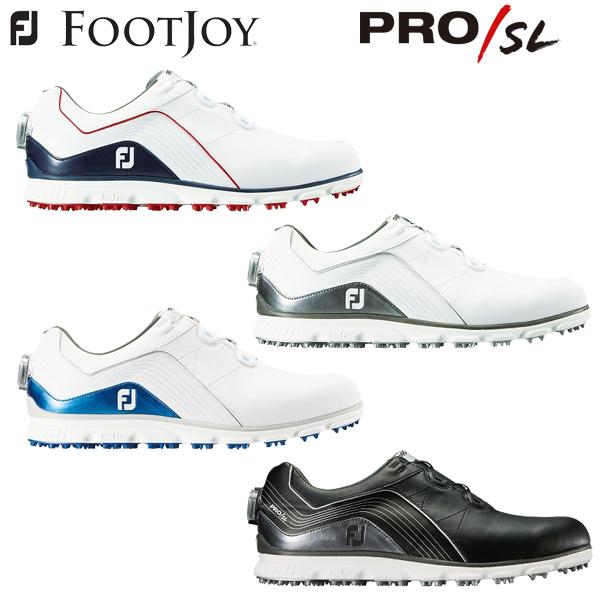 フットジョイ ゴルフ プロSL ボア ゴルフシューズ PRO SL BOA 2018年モデル