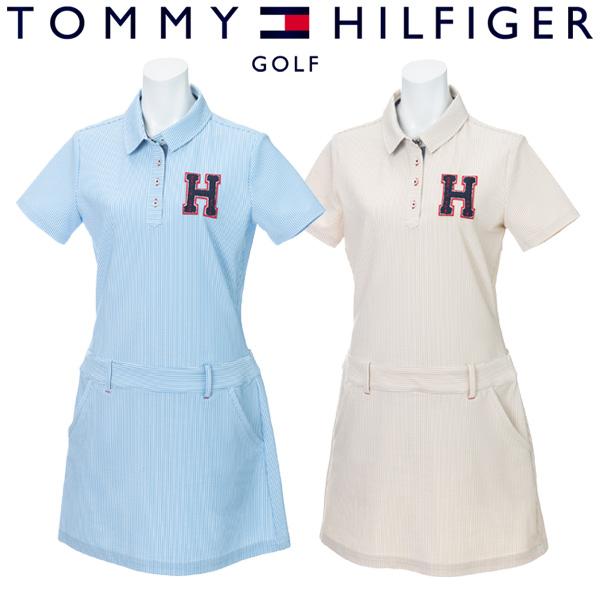 トミーヒルフィガー ゴルフウェア レディース ワンピース THLA943