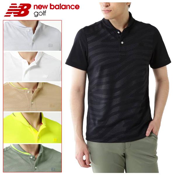 ニューバランス ゴルフウェア メンズ ポロシャツ 012-9160001 2019春夏