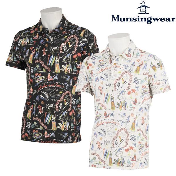 マンシングウェア ゴルフウェア メンズ 半袖ポロシャツ MGMNJA22 2019春夏