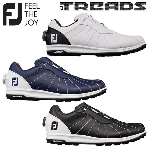 フットジョイ ゴルフ FJ トレッド ボア メンズ ゴルフシューズ Boa 2019モデル スパイクレス