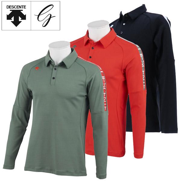 デサントゴルフ ゴルフウェア メンズ ロングスリーブシャツ DGMOJB05 2019秋冬