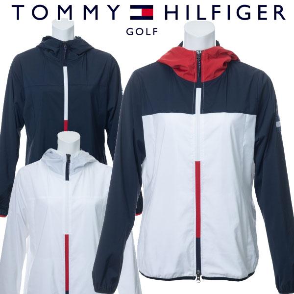 トミーヒルフィガー ゴルフウェア レディース フーデッドウィンドジャケット THLA002 2020春夏