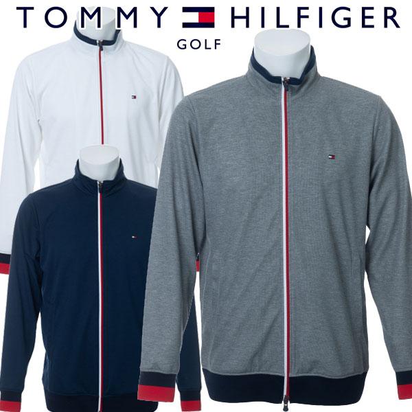 トミーヒルフィガー ゴルフウェア メンズ トラックジャケット THMA004 2020春夏