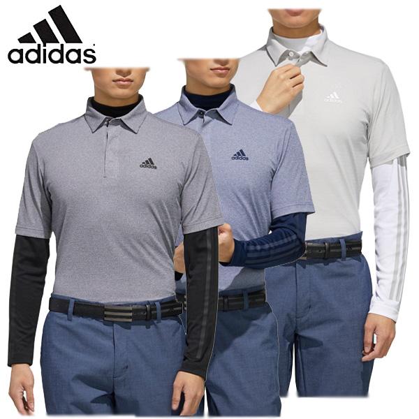 アディダス ゴルフウェア メンズ 半袖ポロシャツ 長袖インナーシャツ GLD31 2020春夏